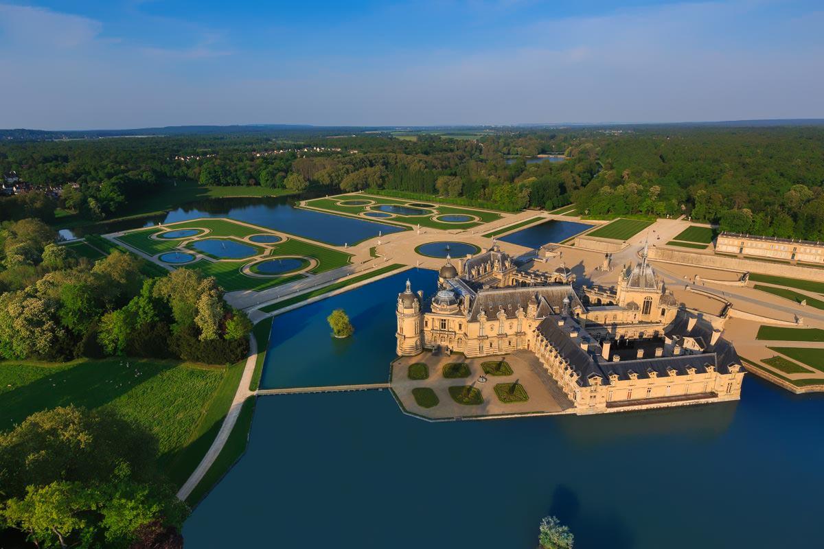 domaine de chantilly parc et chateau