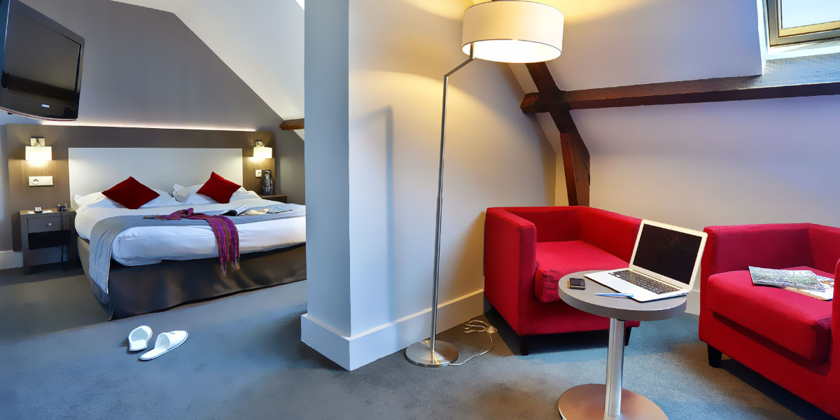 Chambre Confort avec salon