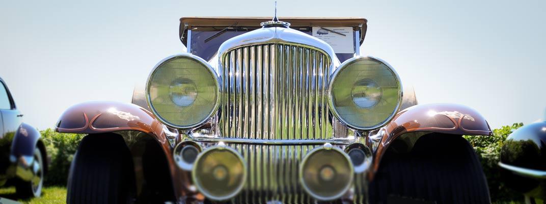 évènement automobile au domaine de chantilly