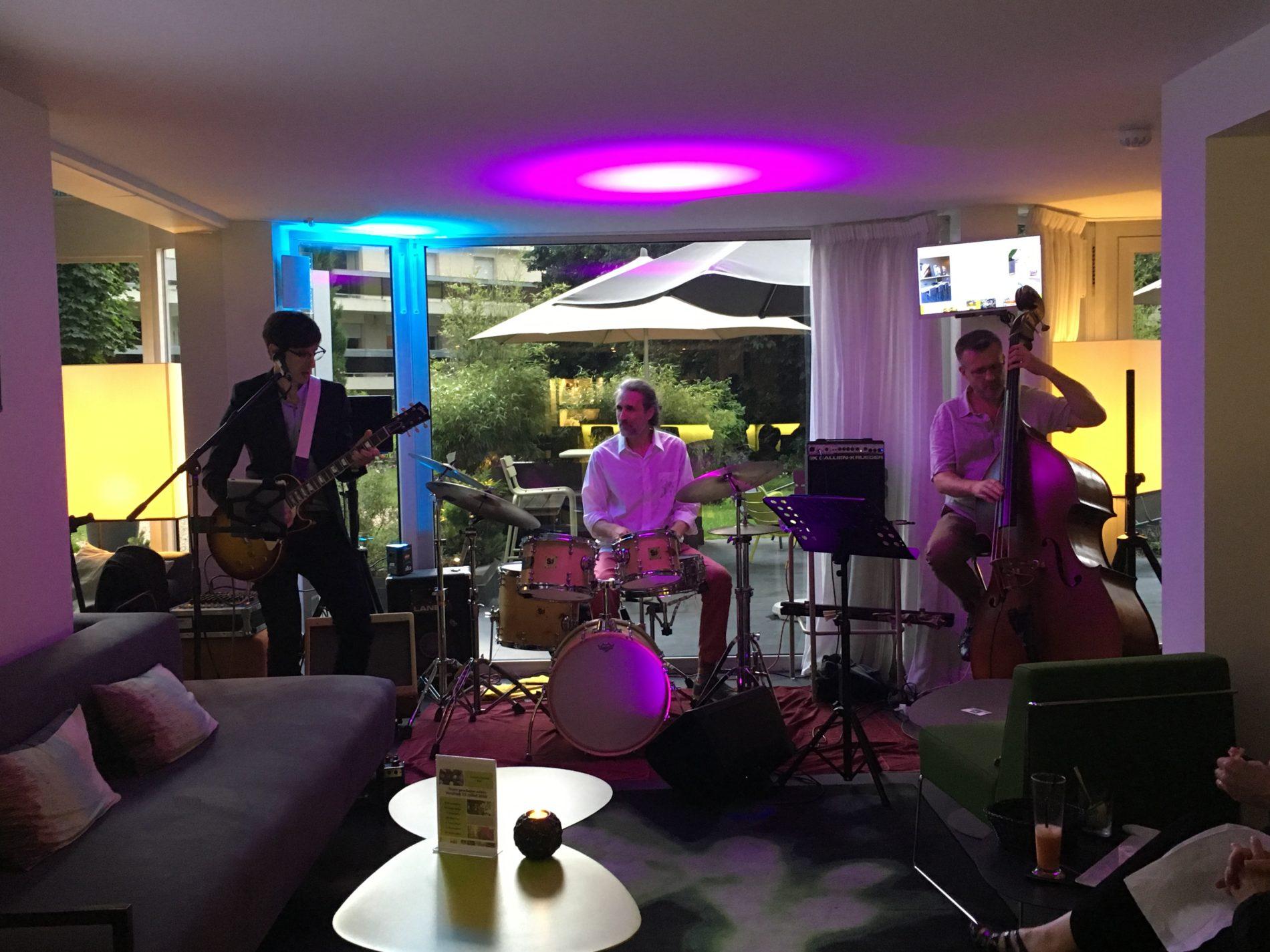 Groupe de Jazz pour arbre de noël au Best Western Plus Hôtel du Parc